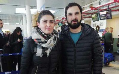 Natalya and Dmitri M from Tbilisi, Georgia