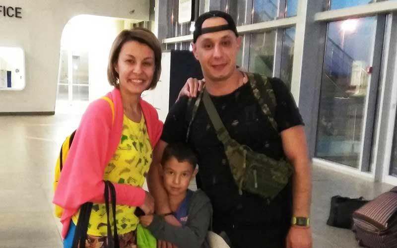 Stanislav and Elena N from Samara