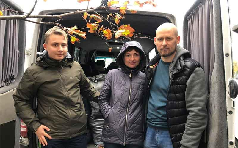 Viktor and Marina Y from Donetsk