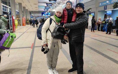 Kirill and Olga B from Omsk